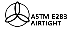 Rated ASTM E283 Airtight construction.
